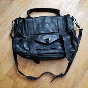Authentic Proenza Schouler PS1 Black Pre-owned